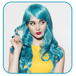 Hair Coloring - Recolor photo hair color icon