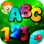 Learn English letters and numbers for children icon