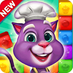 Blaster Chef: Culinary match & collapse puzzles icon