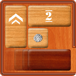 Unblock Red Wood - slide puzzle icon