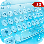 3D Water Droplets Keyboard Theme icon