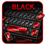 Black Red Keyboard Theme for pc logo