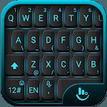 Blue Light Black Keyboard Theme icon