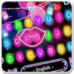 Colorful Sparkling Light Keyboard Theme for pc logo