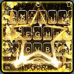 Live Golden Star Keyboard Theme icon
