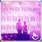 Live Romantic Couple Keyboard Theme icon