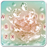 Water Droplets Keyboard Theme icon