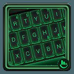 Simple Neon Green Keyboard Theme icon
