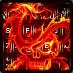 Skull Dragon Keyboard Theme icon