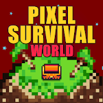 Pixel Survival World - Online Action Survival Game for pc logo