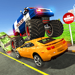 Angry Traffic Police Simulator – Police Cop games icon