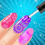 Nail Art Salon Nail Polish Game icon