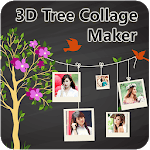 3D Tree Photo Collage Maker icon