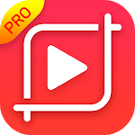 Crop video: Video cut & Video resizer icon