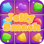Jelly Cube Smash - Line Crush Square icon