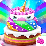 Unicorn Cake Bakery Chef : Food Maker Baking Game icon