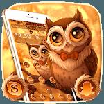 Cute Autumn Owl Theme for pc logo