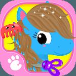Cute & Tiny Horses - Baby Pony Care & Hair Salon icon
