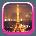 Eiffel Tower theme: Love Paris Launcher themas icon