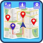 Route Finder & Driving Direction Maps icon