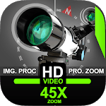 Telescope 45x Zoom Camera (Photo and Video) icon