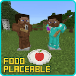 Placeable Food Addon for MCPE icon
