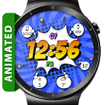 Comic Pow HD Watch Face Widget & Live Wallpaper for pc logo