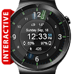 Galaxy Glow HD Watch Face Widget & Live Wallpaper icon