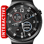 Leather ShockR HD Watch Face Widget Live Wallpaper for pc logo