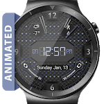 LED Hex HD Watch Face Widget & Live Wallpaper icon