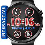 Line Face HD Watch Face Widget & Live Wallpaper icon