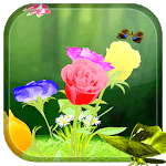 Rose 3D Live Wallpaper icon