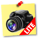NoteCam Lite - photo with notes [GPS Camera] for pc logo