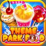 Theme Park Fair Food Maker - Candy Pizza Fun Game icon