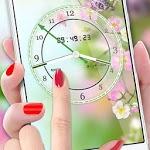 Flower Clock Live Wallpaper 2018: Luxury Watch 3D icon