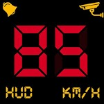 Digital Speedometer - GPS Odometer app offline HUD for pc logo