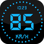 GPS Speedometer and Odometer: Distance meter icon