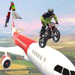 Bike sky stunt - Bike Stunt Game icon