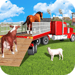 Offroad Animal Transport Truck Driver 3D icon