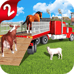 Off-Road Animal Transport Truck Driver 3D 2 icon