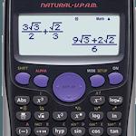 Fx Calculator 350es 84+ calculator sin cos tan icon