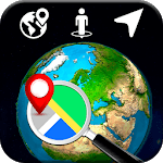 3D Earth Globe: World Map Panorama & 360 Satellite icon