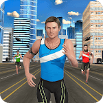 Marathon Race Simulator 3D: Running Game icon
