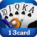 Chinese poker - Pusoy, Capsa susun, Free 13 poker icon