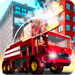 Fire Truck Emergency Rescue - Driving Simulator icon