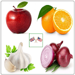 Vegetables and Fruits Vocabulary icon
