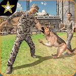 Army Dog Training Simulator - Border Crime 19 icon