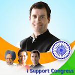 Congress DP Maker: I Support Congress/INC icon