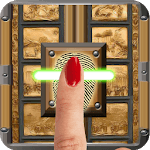 Finger Temple Door Lock Prank icon