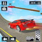 Extreme Car Racing Tracks: Stunt Driving Simulator icon